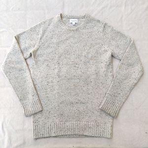 Frank and Oak Men's Wool Blend Gray Sweater Sz XS